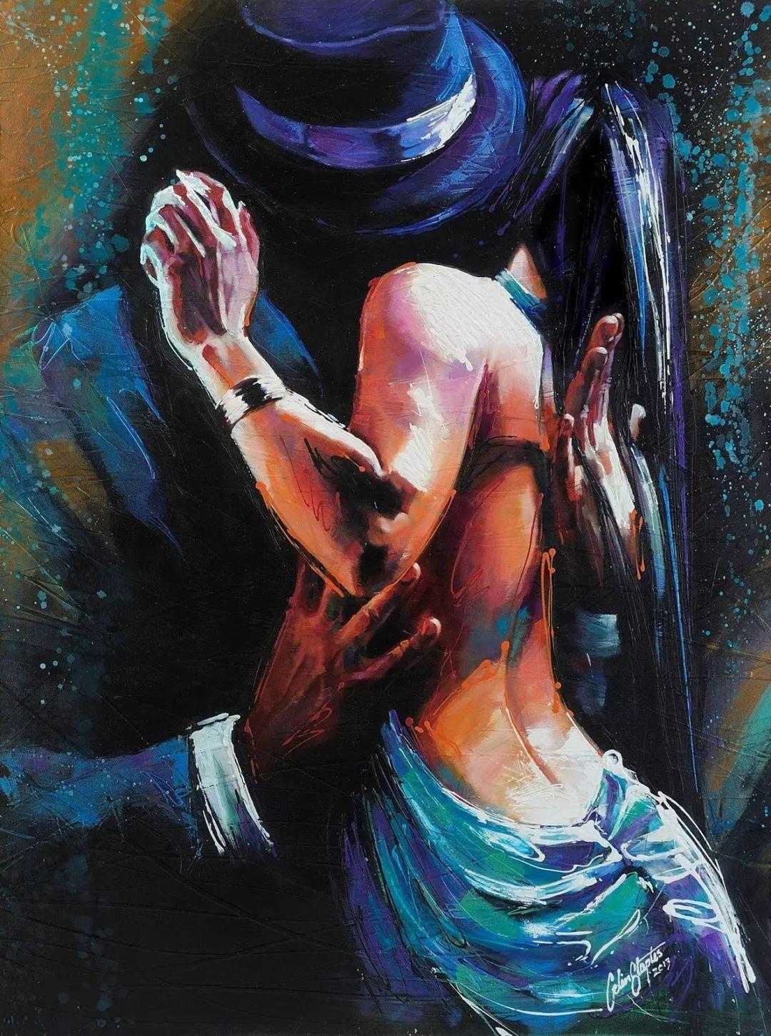受武术影响的画风,澳大利亚画家Colin Staples插图8