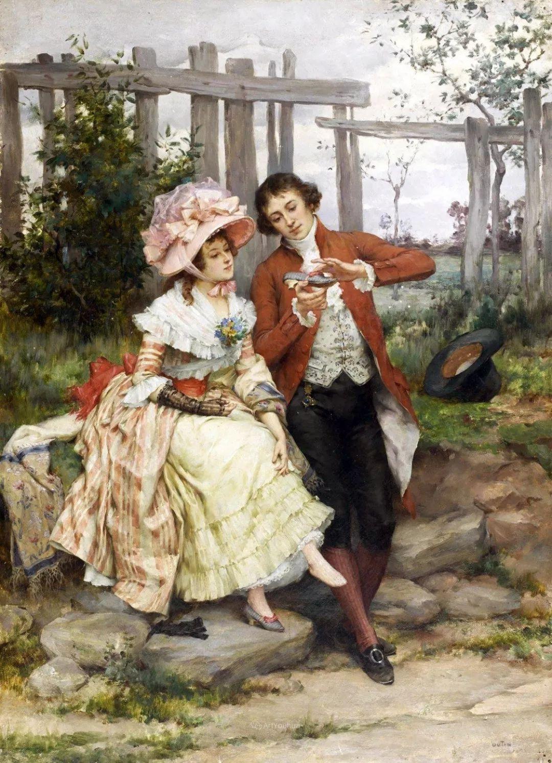 浪漫的爱情,法国艺术家Pierre Outin插图3