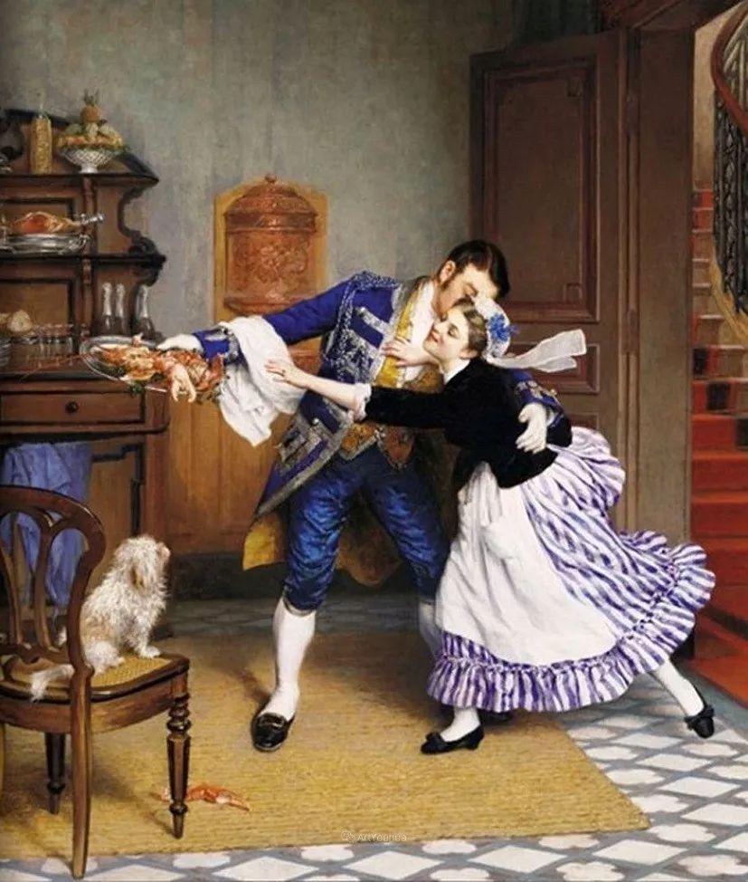浪漫的爱情,法国艺术家Pierre Outin插图11