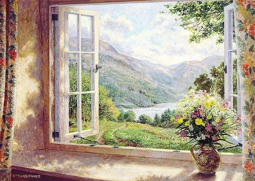 温馨的家,英国画家Stephen John Darbishire插图16