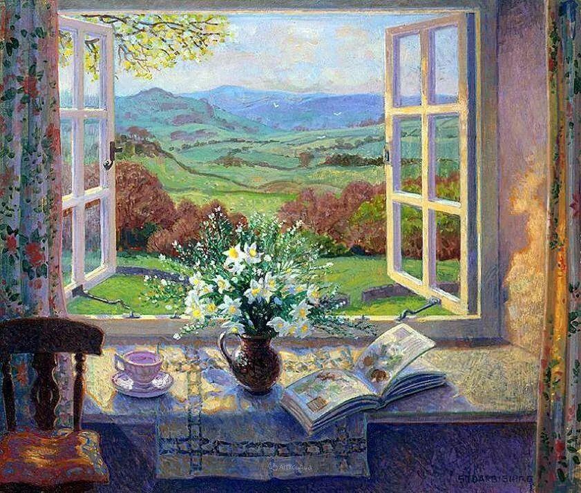 温馨的家,英国画家Stephen John Darbishire插图19