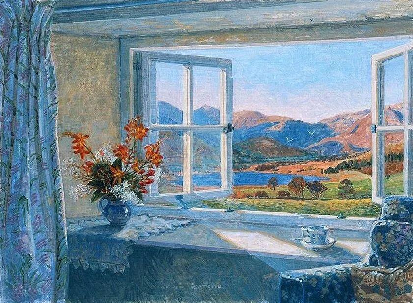 温馨的家,英国画家Stephen John Darbishire插图20