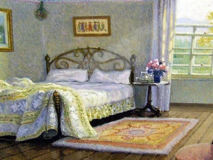 温馨的家,英国画家Stephen John Darbishire插图27