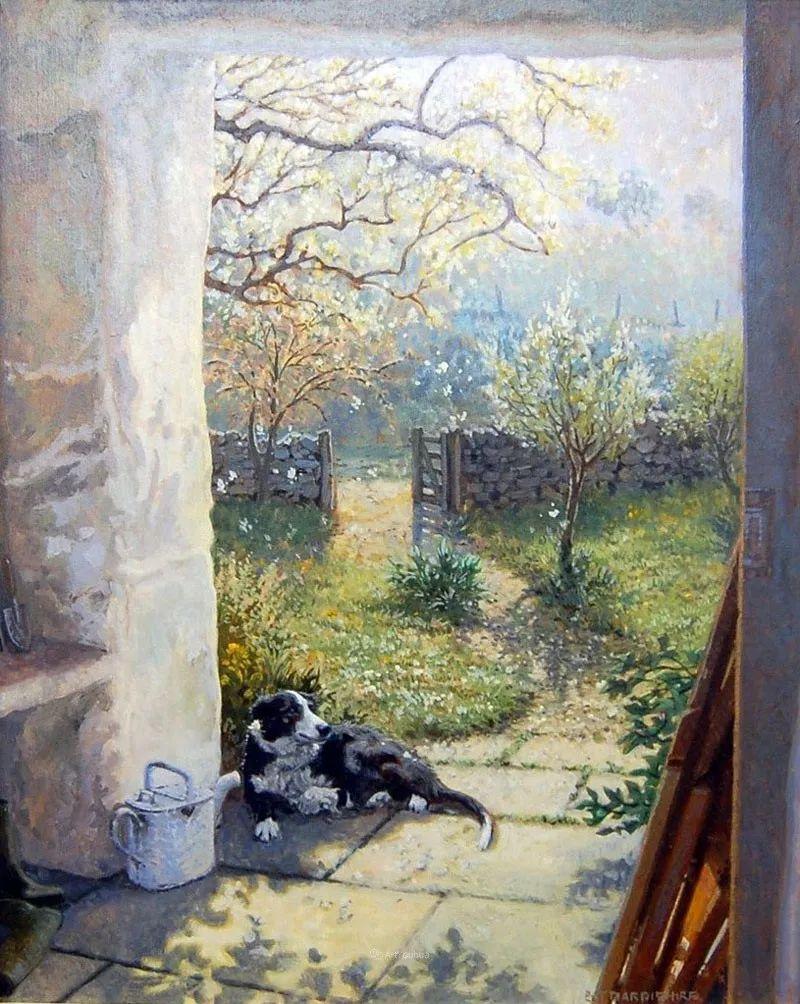 温馨的家,英国画家Stephen John Darbishire插图35