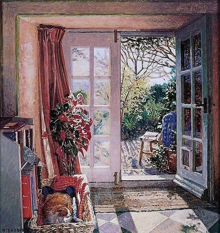 温馨的家,英国画家Stephen John Darbishire插图36