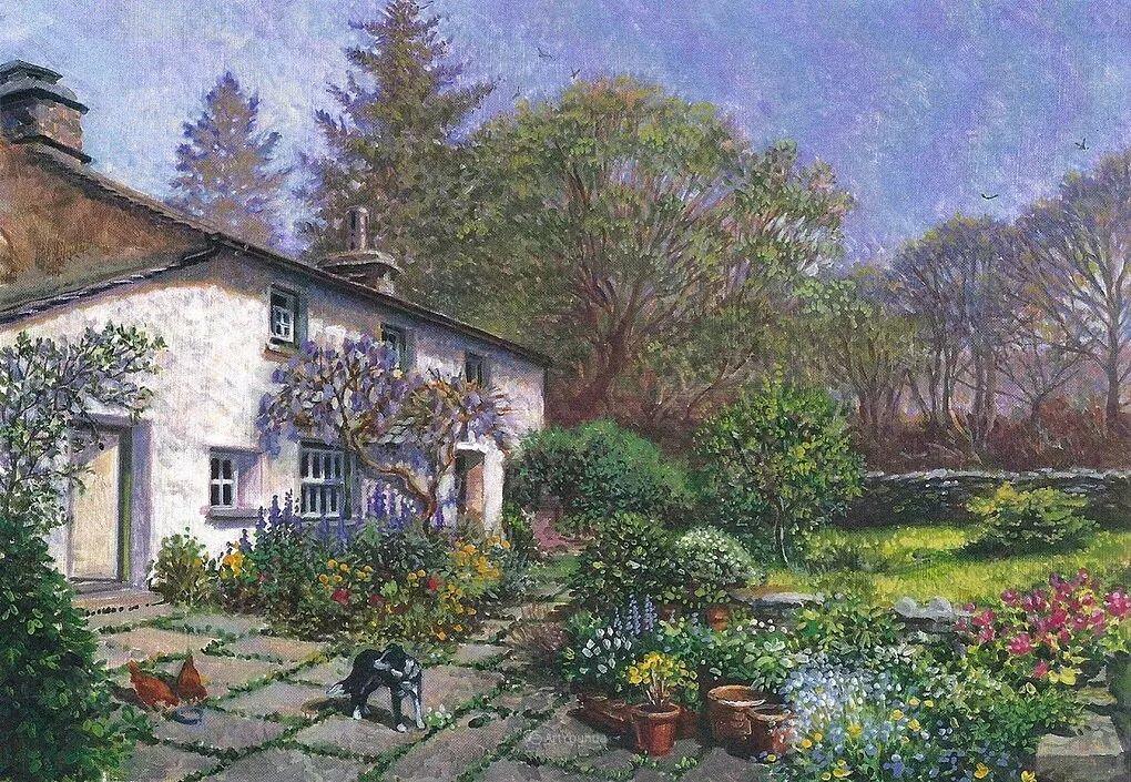 温馨的家,英国画家Stephen John Darbishire插图39