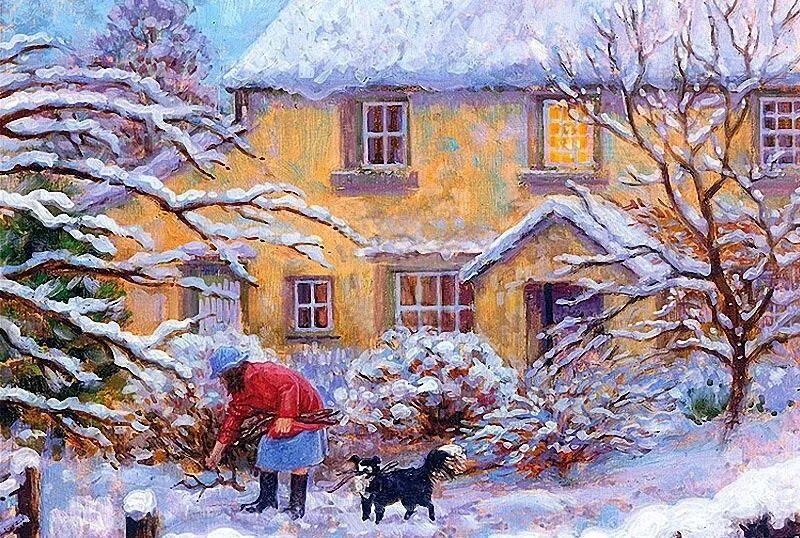 温馨的家,英国画家Stephen John Darbishire插图41