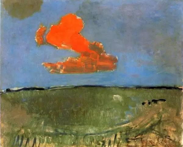 非具象绘画的构成风景,荷兰画家Piet Mondrian插图6
