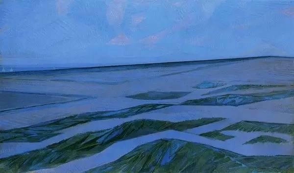 非具象绘画的构成风景,荷兰画家Piet Mondrian插图10