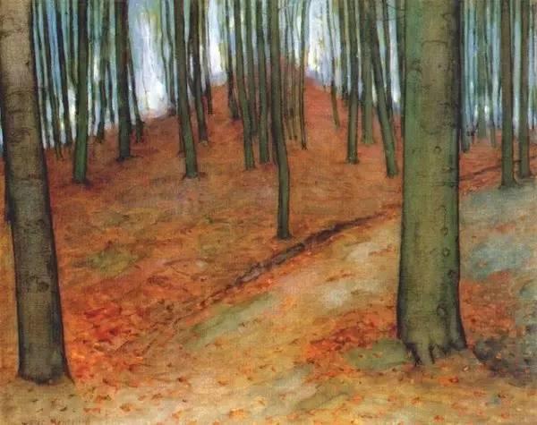 非具象绘画的构成风景,荷兰画家Piet Mondrian插图16