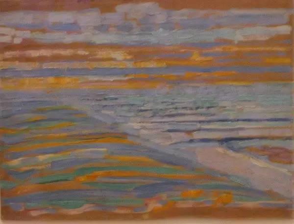 非具象绘画的构成风景,荷兰画家Piet Mondrian插图18