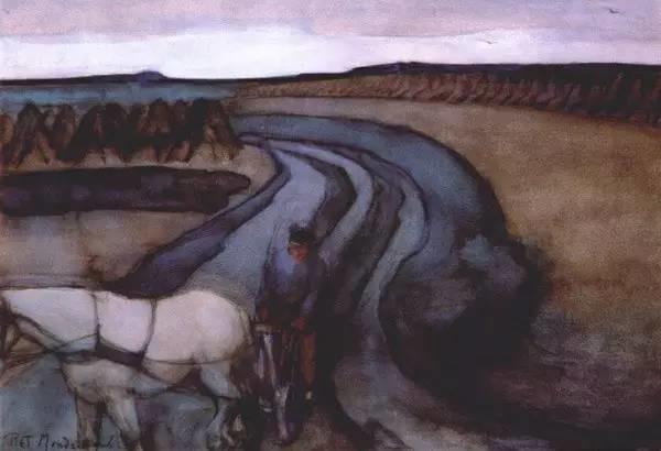 非具象绘画的构成风景,荷兰画家Piet Mondrian插图19