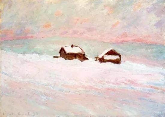 莫奈雪景的高冷之美插图1