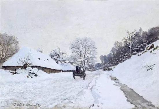 莫奈雪景的高冷之美插图11