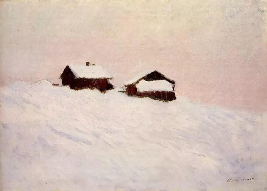 莫奈雪景的高冷之美插图17