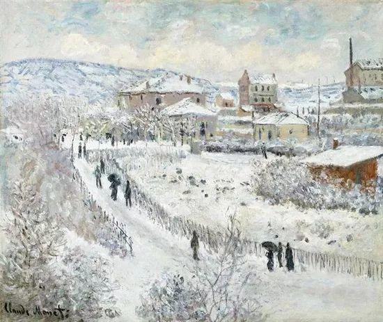 莫奈雪景的高冷之美插图19