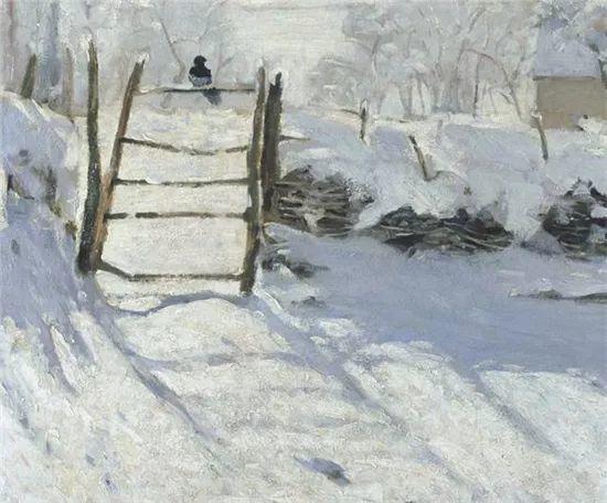 莫奈雪景的高冷之美插图35