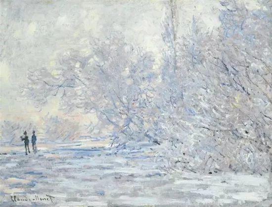 莫奈雪景的高冷之美插图45