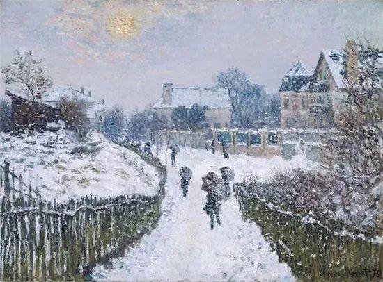 莫奈雪景的高冷之美插图47