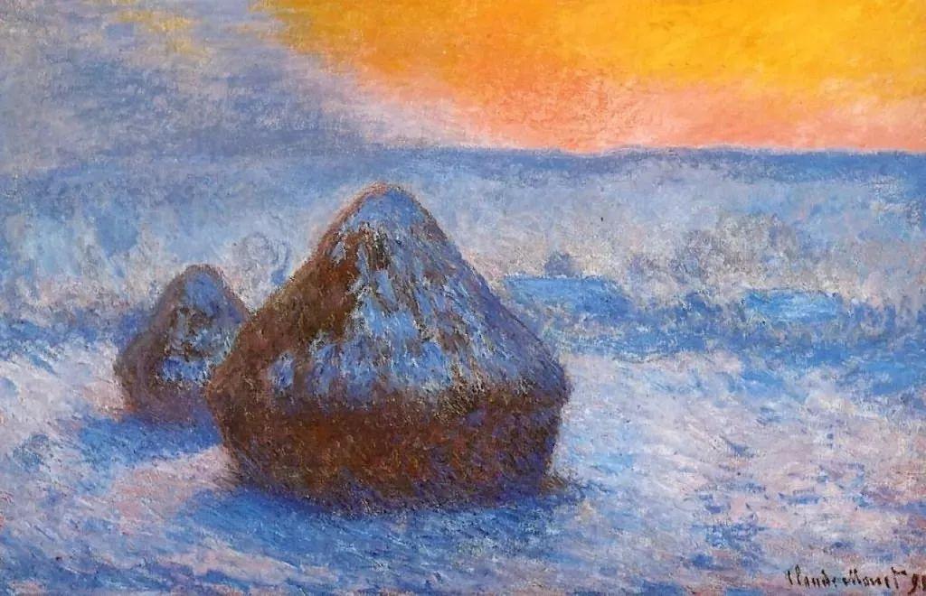 莫奈雪景的高冷之美插图51