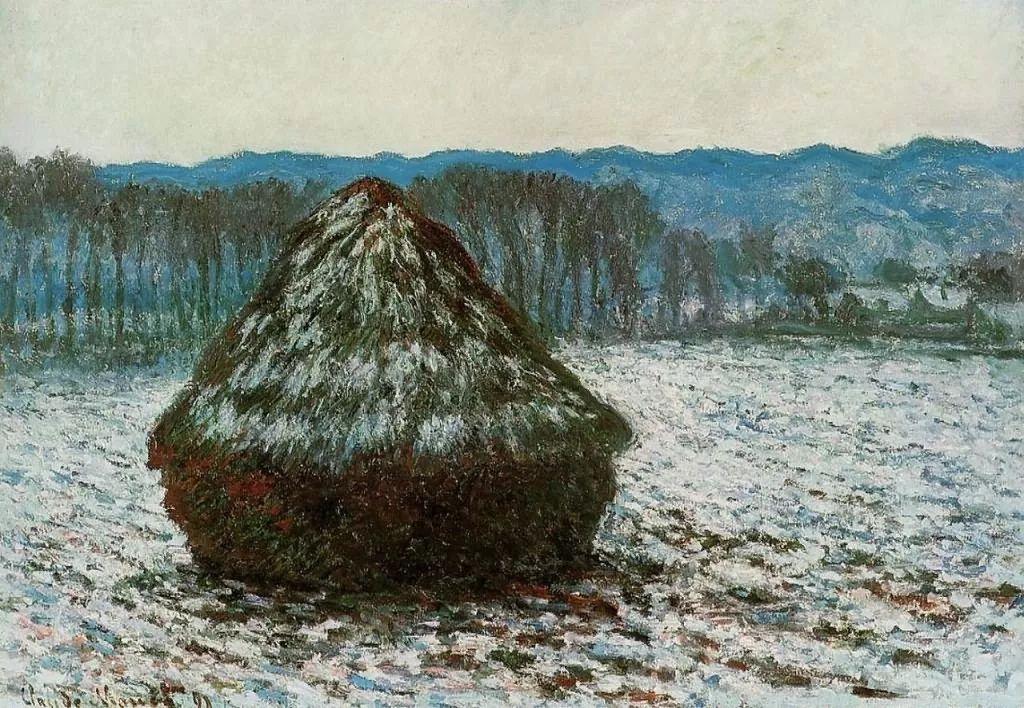 莫奈雪景的高冷之美插图53