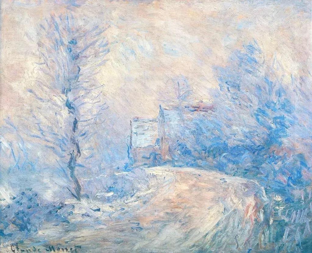 莫奈雪景的高冷之美插图59