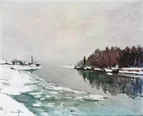 莫奈雪景的高冷之美插图87