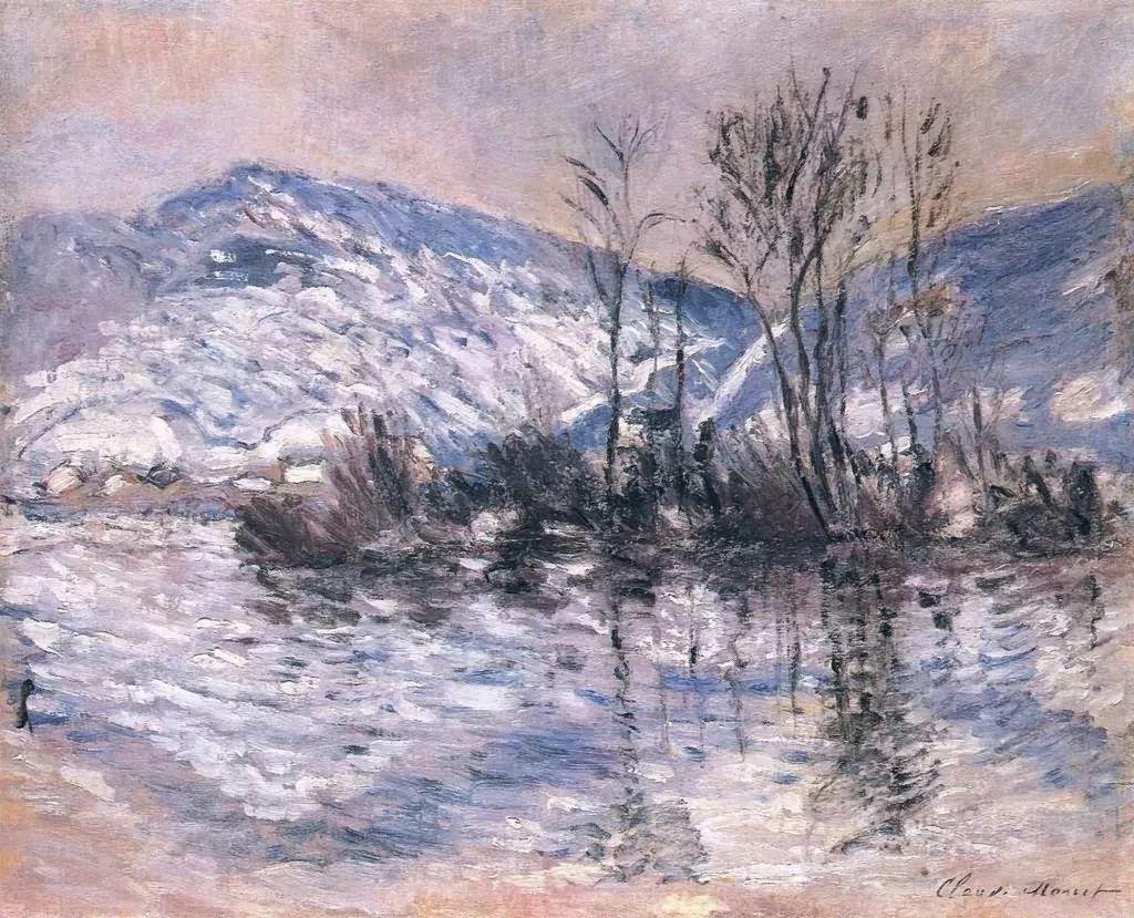 莫奈雪景的高冷之美插图89