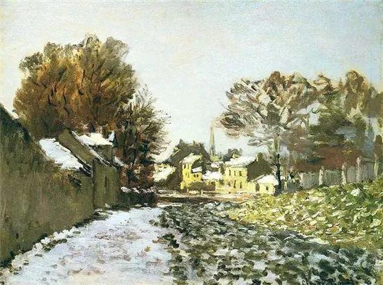 莫奈雪景的高冷之美插图105