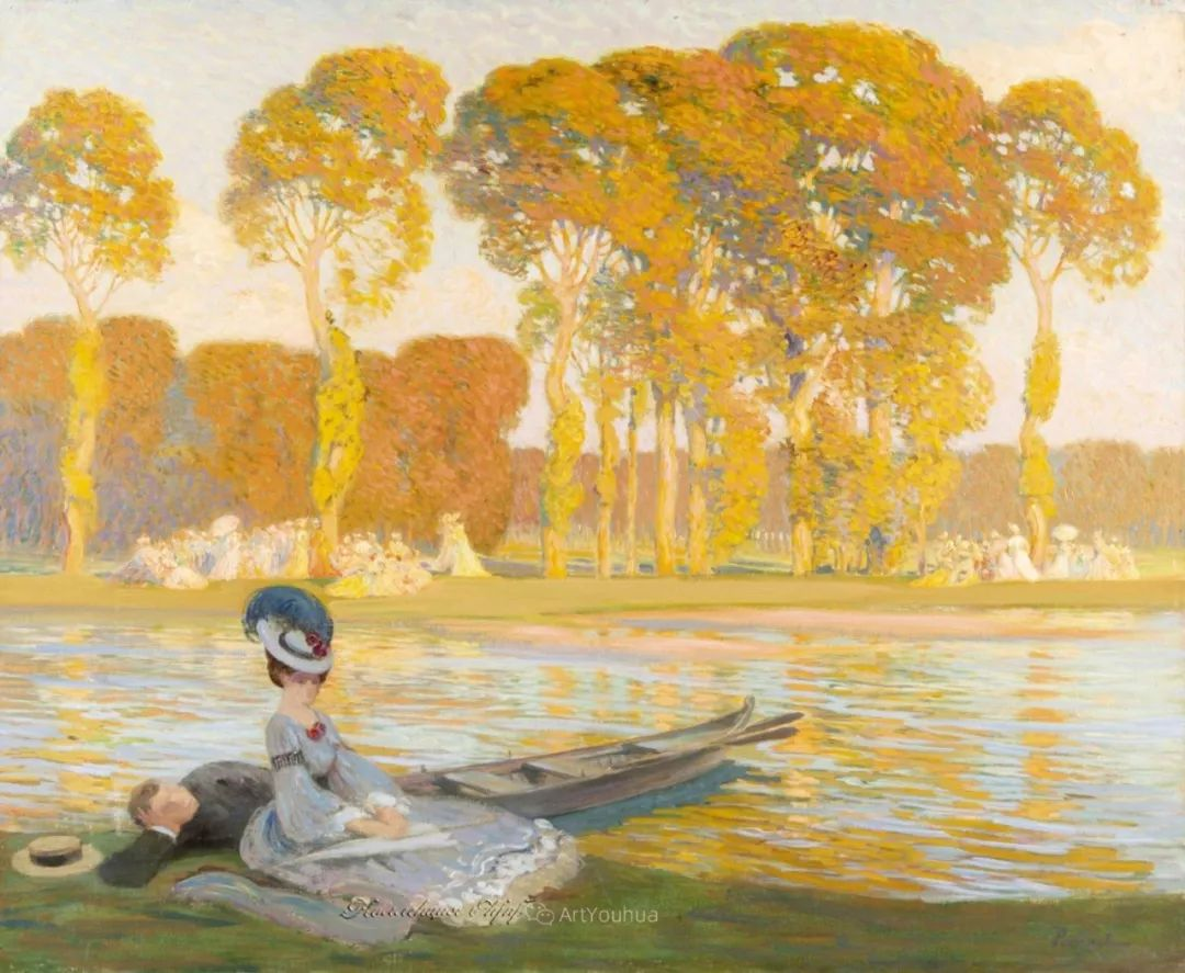 师从古斯塔夫·莫罗,瑞士画家Gustave Poetzsch插图3