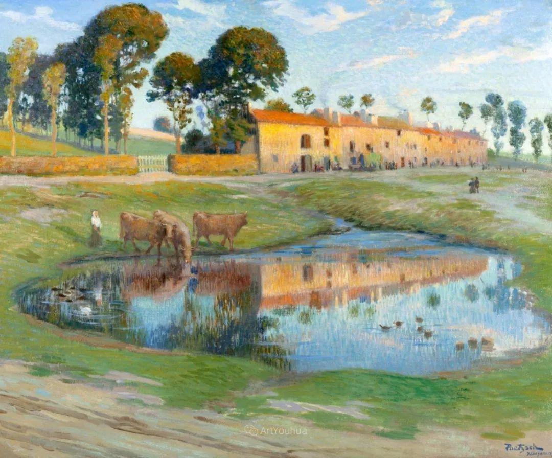 师从古斯塔夫·莫罗,瑞士画家Gustave Poetzsch插图5