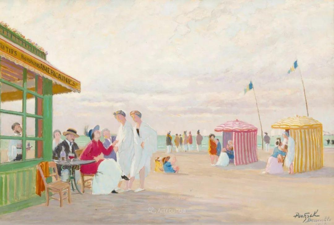 师从古斯塔夫·莫罗,瑞士画家Gustave Poetzsch插图7