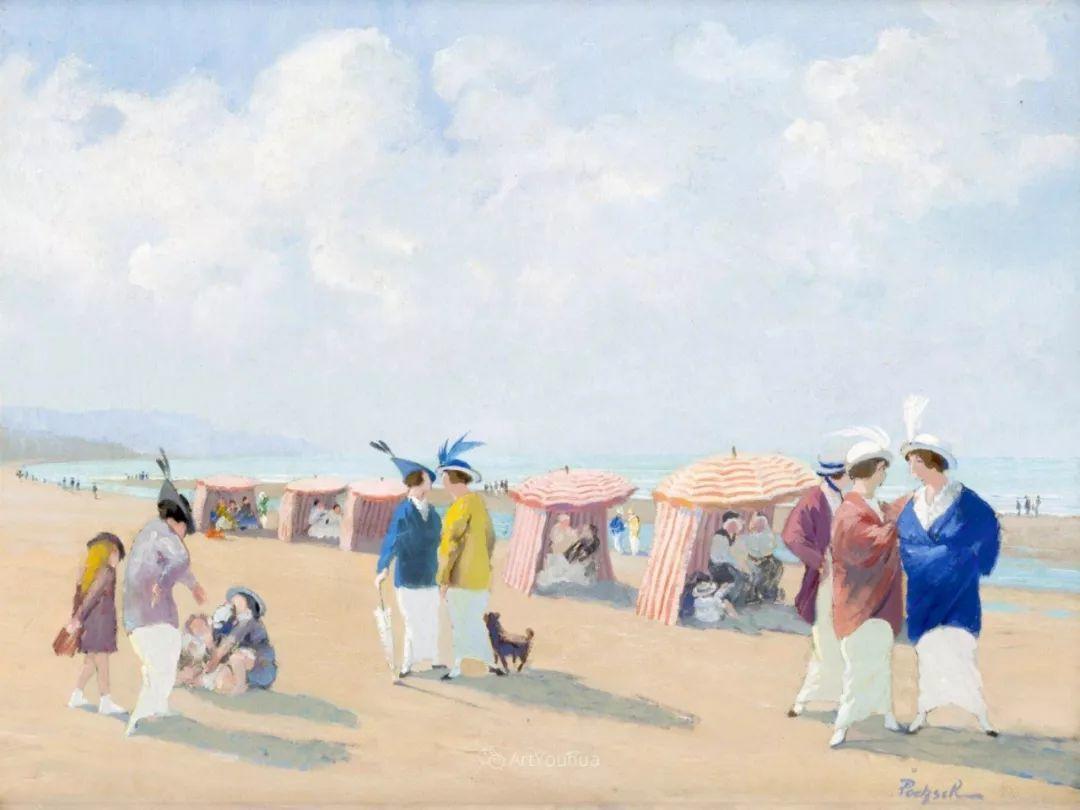 师从古斯塔夫·莫罗,瑞士画家Gustave Poetzsch插图11