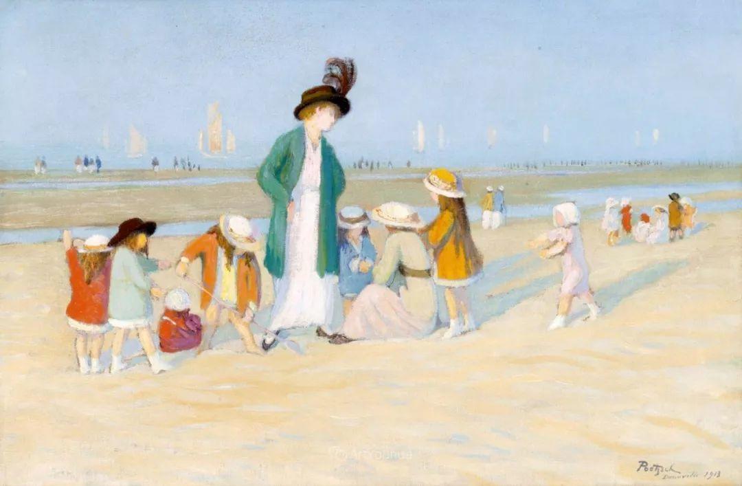 师从古斯塔夫·莫罗,瑞士画家Gustave Poetzsch插图15