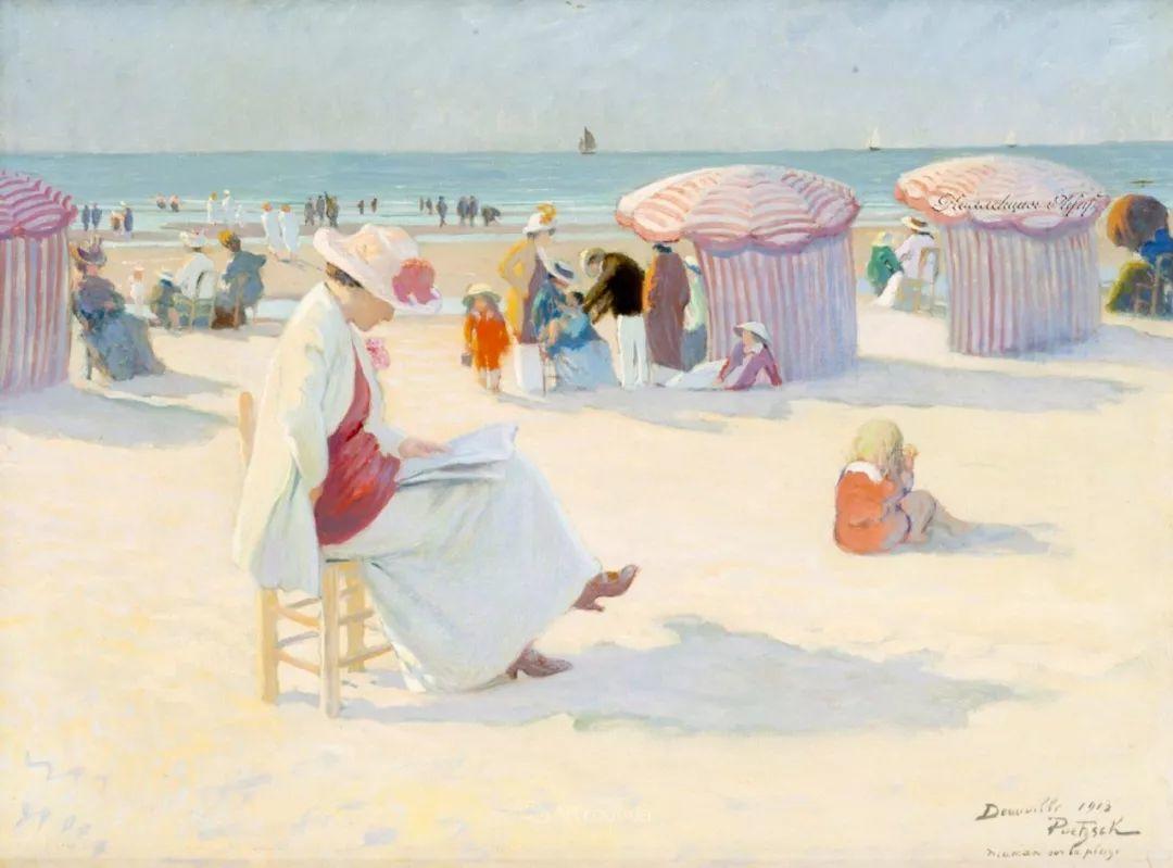 师从古斯塔夫·莫罗,瑞士画家Gustave Poetzsch插图17