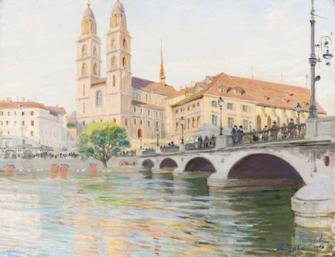 师从古斯塔夫·莫罗,瑞士画家Gustave Poetzsch插图19