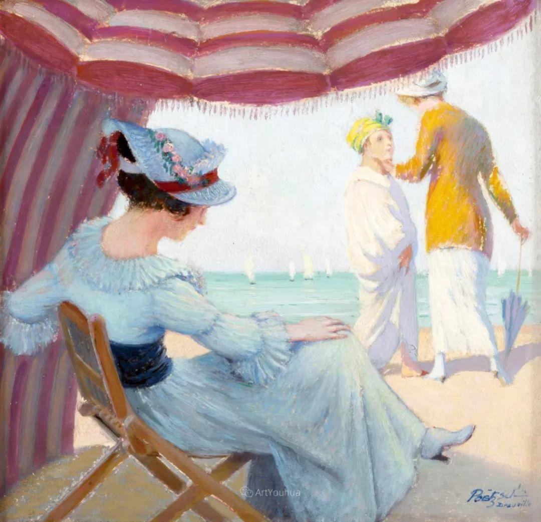 师从古斯塔夫·莫罗,瑞士画家Gustave Poetzsch插图25