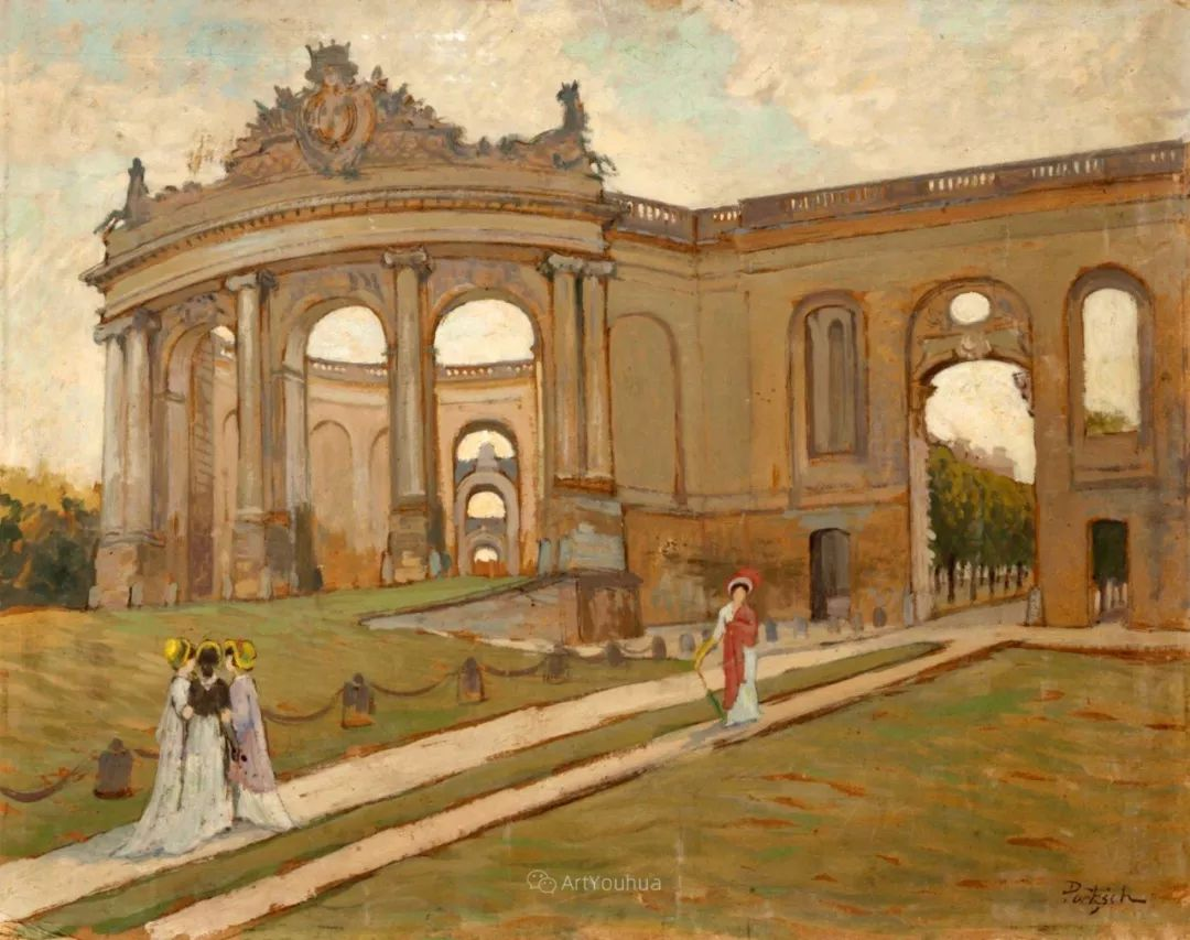 师从古斯塔夫·莫罗,瑞士画家Gustave Poetzsch插图33