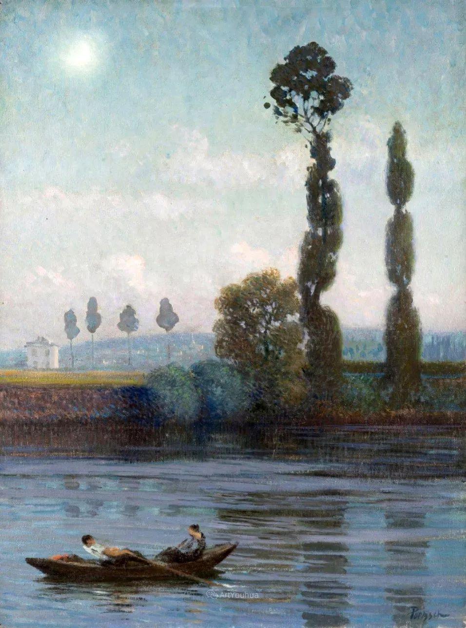 师从古斯塔夫·莫罗,瑞士画家Gustave Poetzsch插图39