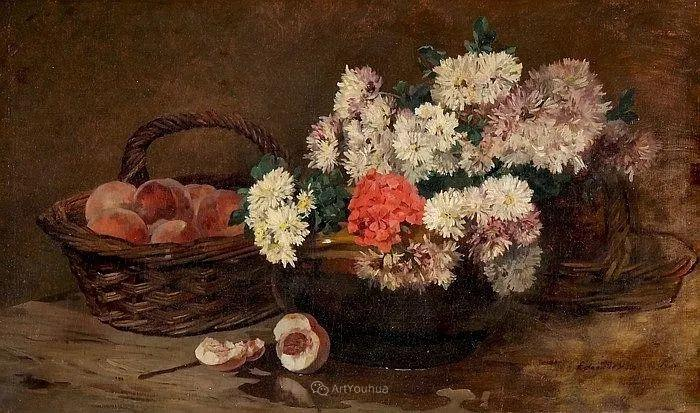河边的风景,法国画家Edmond Charles Joseph Yon插图17