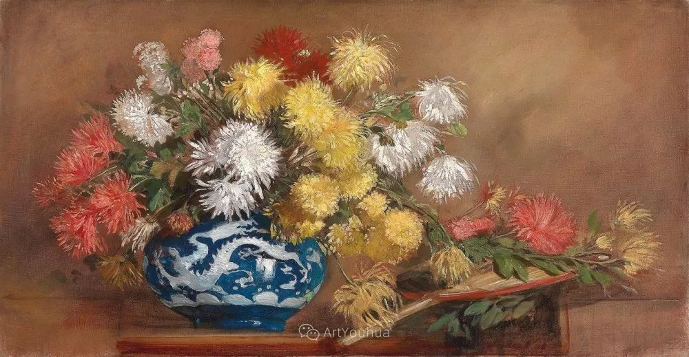 绘画题材广泛,奥地利画家Hugo Charlemont插图17