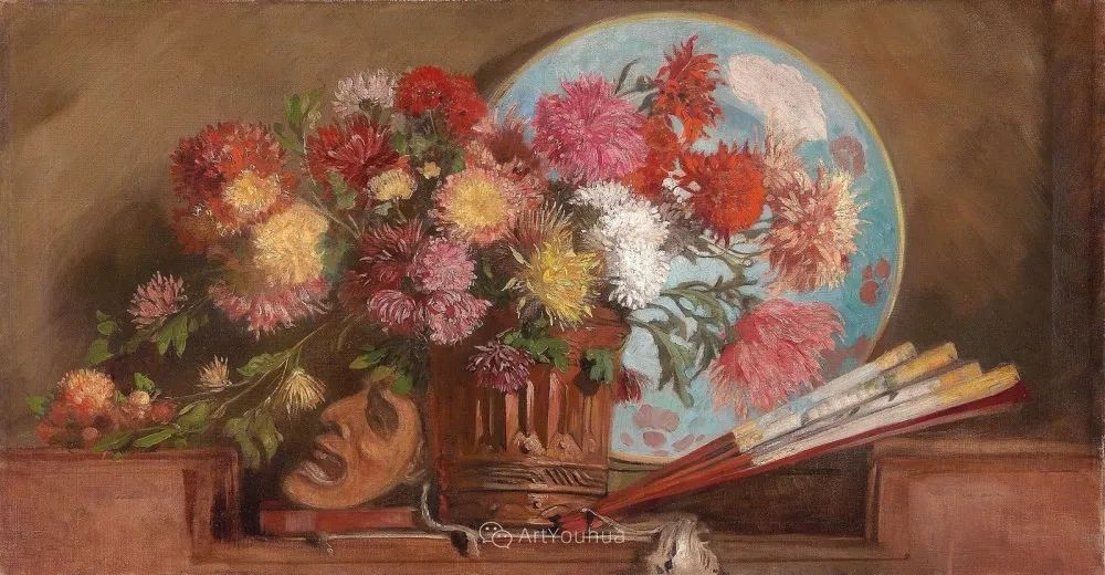 绘画题材广泛,奥地利画家Hugo Charlemont插图19