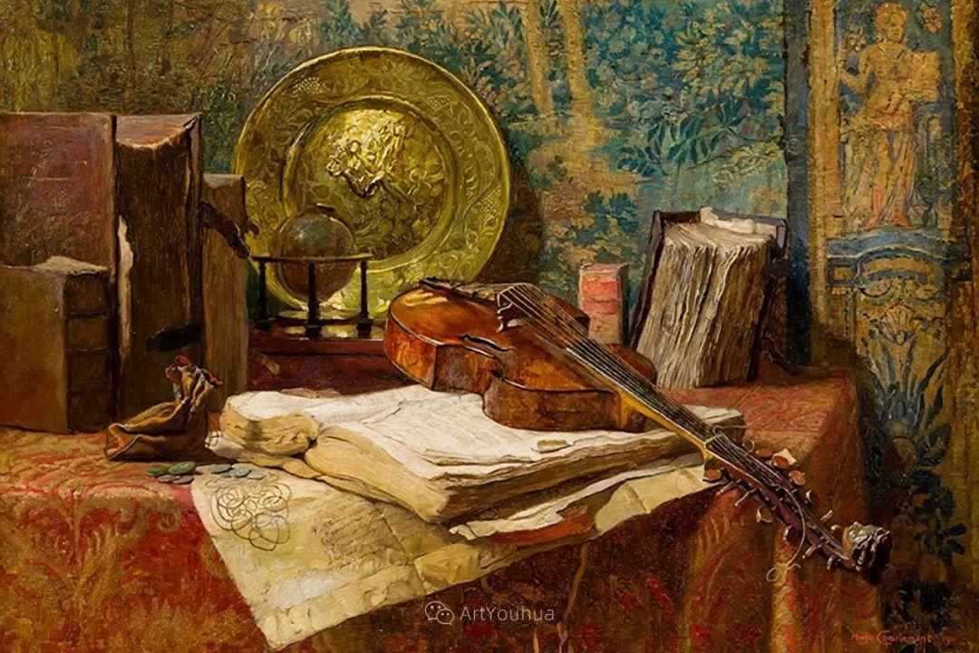 绘画题材广泛,奥地利画家Hugo Charlemont插图31