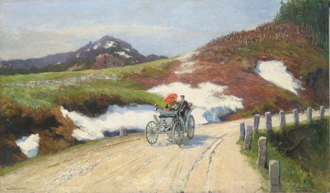 绘画题材广泛,奥地利画家Hugo Charlemont插图39