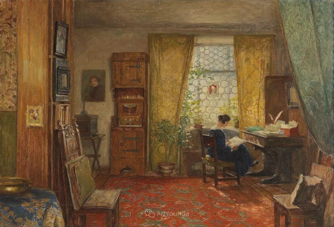 绘画题材广泛,奥地利画家Hugo Charlemont插图45