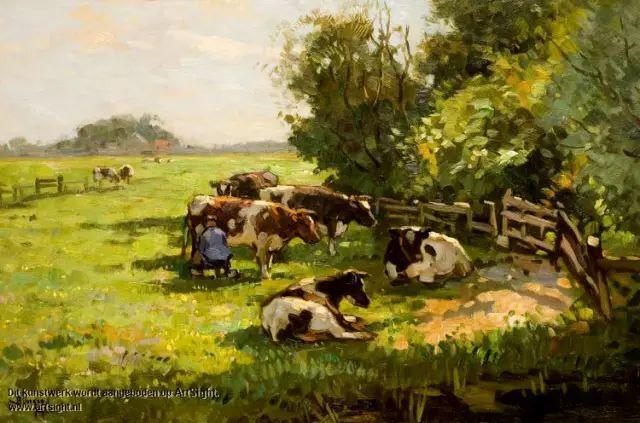 风景油画,荷兰画家Ben Viegers插图7