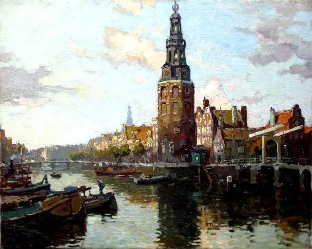 风景油画,荷兰画家Ben Viegers插图11