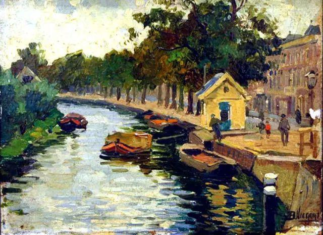 风景油画,荷兰画家Ben Viegers插图13