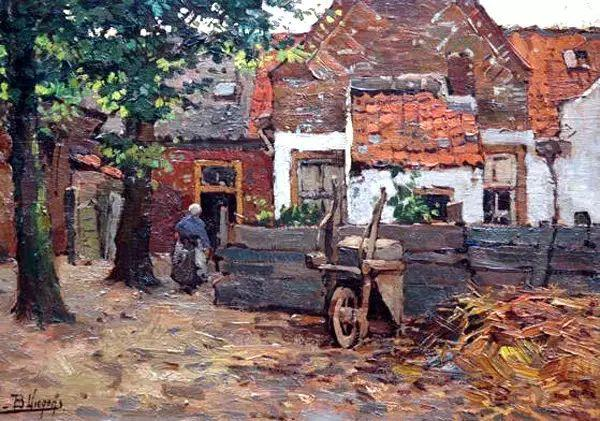 风景油画,荷兰画家Ben Viegers插图17