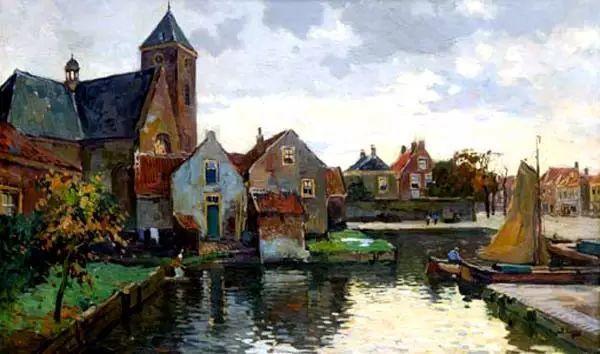 风景油画,荷兰画家Ben Viegers插图19